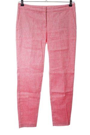 Stefanel Karottenhose pink meliert Casual-Look