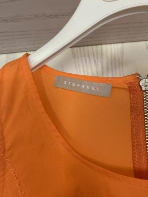 Stefanel Balloon Dress orange-brown