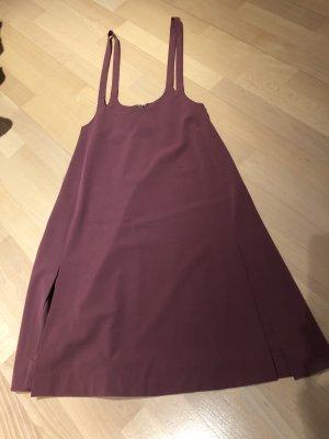 Stefanel Kleid latzkleid Bordeaux Neu