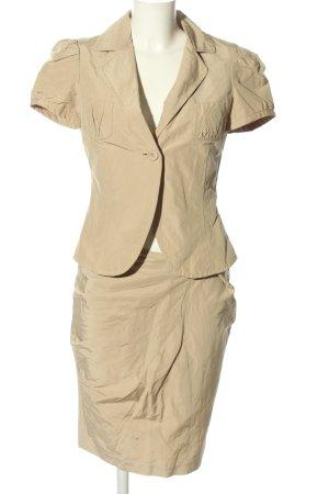 Stefanel Kostüm creme Casual-Look