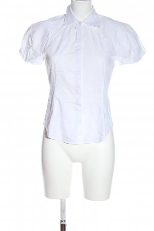 Stefanel Shirt met korte mouwen wit zakelijke stijl