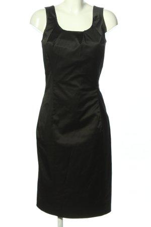 Stefanel Kurzarmkleid schwarz Elegant
