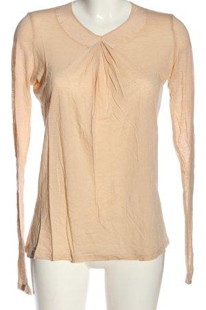 Stefanel Langarm-Bluse nude Casual-Look