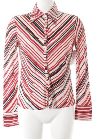 Stefanel Langarmhemd Streifenmuster klassischer Stil