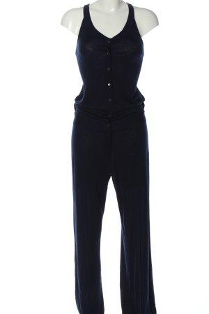 Stefanel Langer Jumpsuit blue casual look