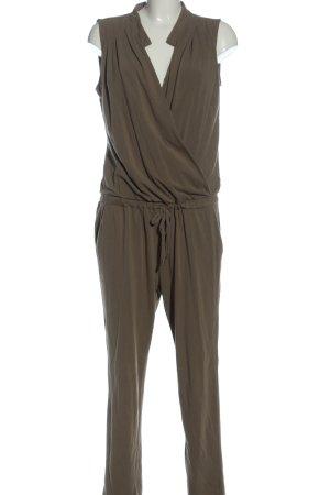 Stefanel Langer Jumpsuit bronze-colored flecked casual look