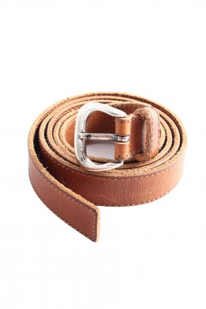 Stefanel Leather Belt brown business style