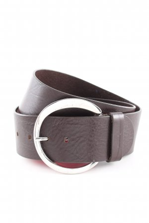 Stefanel Leather Belt brown casual look
