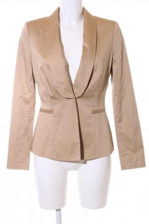 Stefanel Long-Blazer nude Business-Look