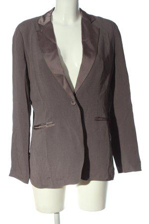 Stefanel Long-Blazer braun Business-Look