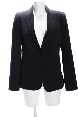 Stefanel Long Blazer black business style