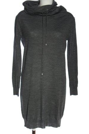 Stefanel Swetrowa sukienka jasnoszary Melanżowy W stylu casual