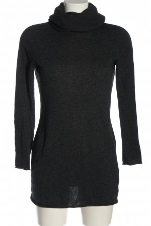 Stefanel Długi sweter jasnoszary W stylu casual