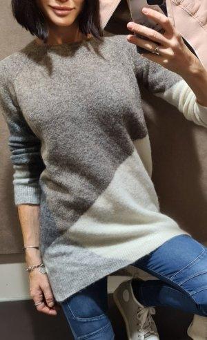 Stefanel longpullover Sweater Pullover winterpullover 80er geometrisch hygge