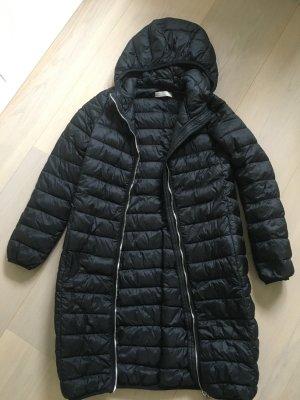 Stefanel Abrigo de plumón negro