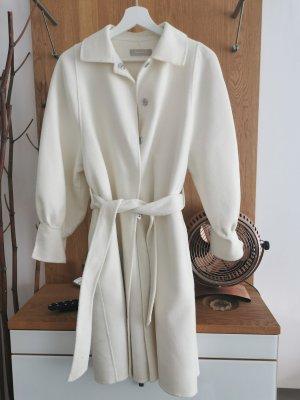 Stefanel Cappotto in lana bianco sporco