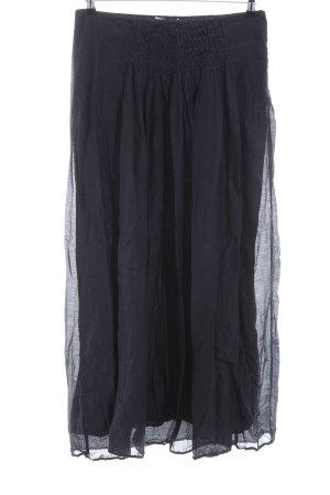 Stefanel Maxi rok zwart casual uitstraling
