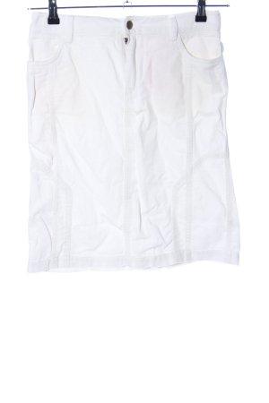 Stefanel Spódnica midi biały W stylu casual