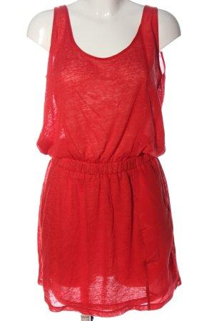Stefanel Minikleid rot Casual-Look