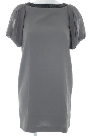 Stefanel Minikleid grüngrau-schwarz Elegant