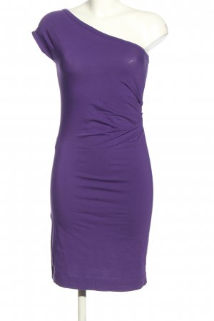 Stefanel One-Shoulder-Kleid lila Elegant