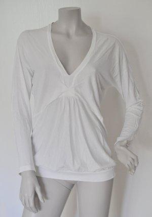 Stefanel Oversize Shirt Supima Baumwolle weiß Gr. M