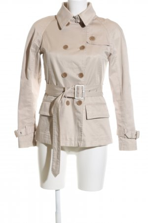 Stefanel Pea Coat natural white business style
