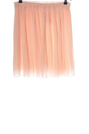 Stefanel Jupe plissée rose chair style décontracté