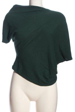 Stefanel Poncho groen casual uitstraling