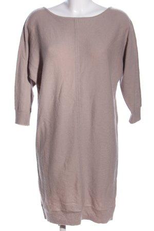 Stefanel Pulloverkleid wollweiß Casual-Look