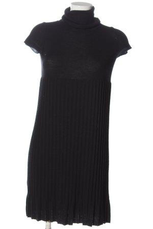 Stefanel Robe pull noir style décontracté