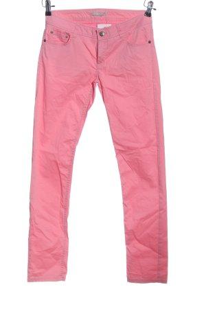 Stefanel Röhrenhose pink Casual-Look