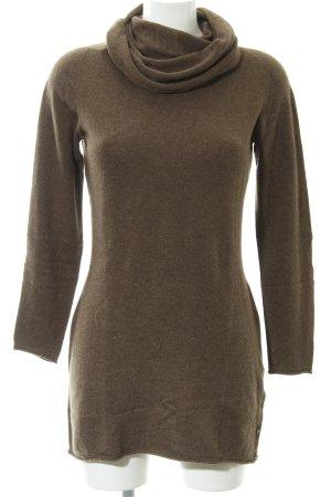 Stefanel Turtleneck Sweater light brown casual look