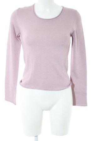 Stefanel Rundhalspullover pink Casual-Look