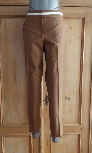 Stefanel - Schicke Hose mit weißen Kontrasten - neu