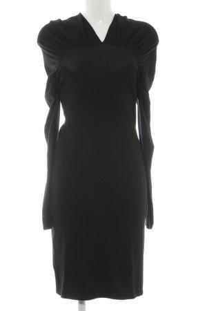 Stefanel Schlauchkleid schwarz Elegant