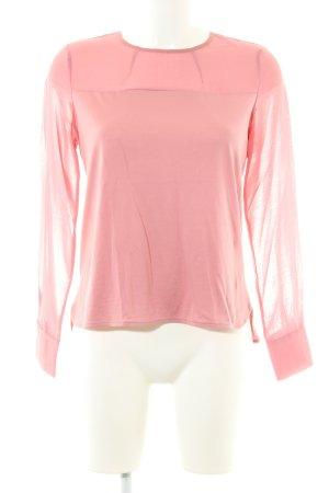 Stefanel Schlupf-Bluse pink Casual-Look