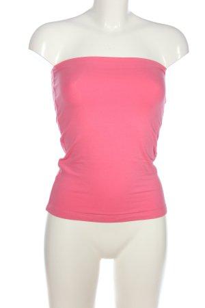 Stefanel Off the shoulder top roze casual uitstraling