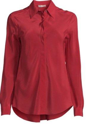Stefanel Seidenbluse Bluse Seide Gr. XL, 44 neu mit Etikett rot