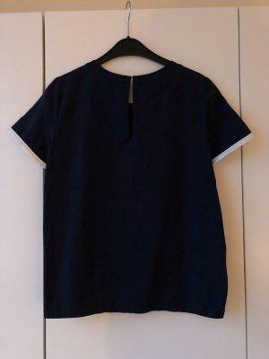 Stefanel Shirt dunkelblau