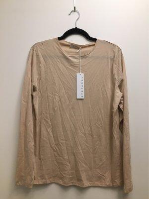 STEFANEL Shirt T-shirt beige Gr. XL NEU mit Etikett