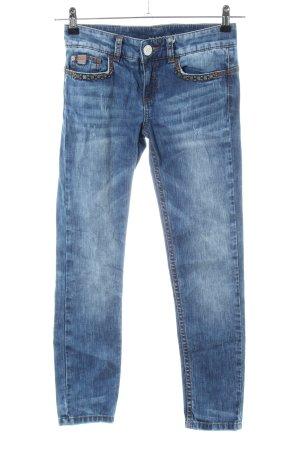Stefanel Skinny Jeans blau Casual-Look