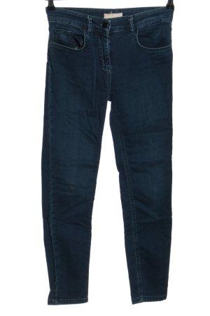 Stefanel Slim Jeans blau Casual-Look