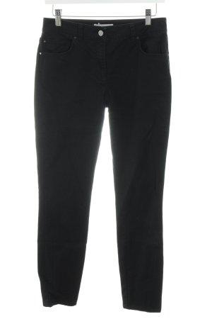 Stefanel Slim Jeans schwarz Casual-Look