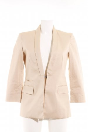 Stefanel Smoking-Blazer nude Business-Look