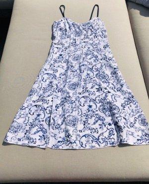 Stefanel Sommerkleid aus Seide mit Blauen Print