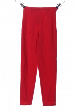 Stefanel Stoffhose rot Casual-Look