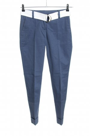 Stefanel Stoffhose blau Casual-Look
