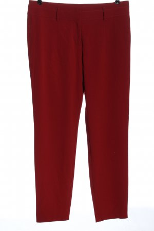 Stefanel Jersey Pants red business style