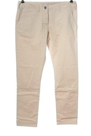 Stefanel Jersey Pants cream casual look